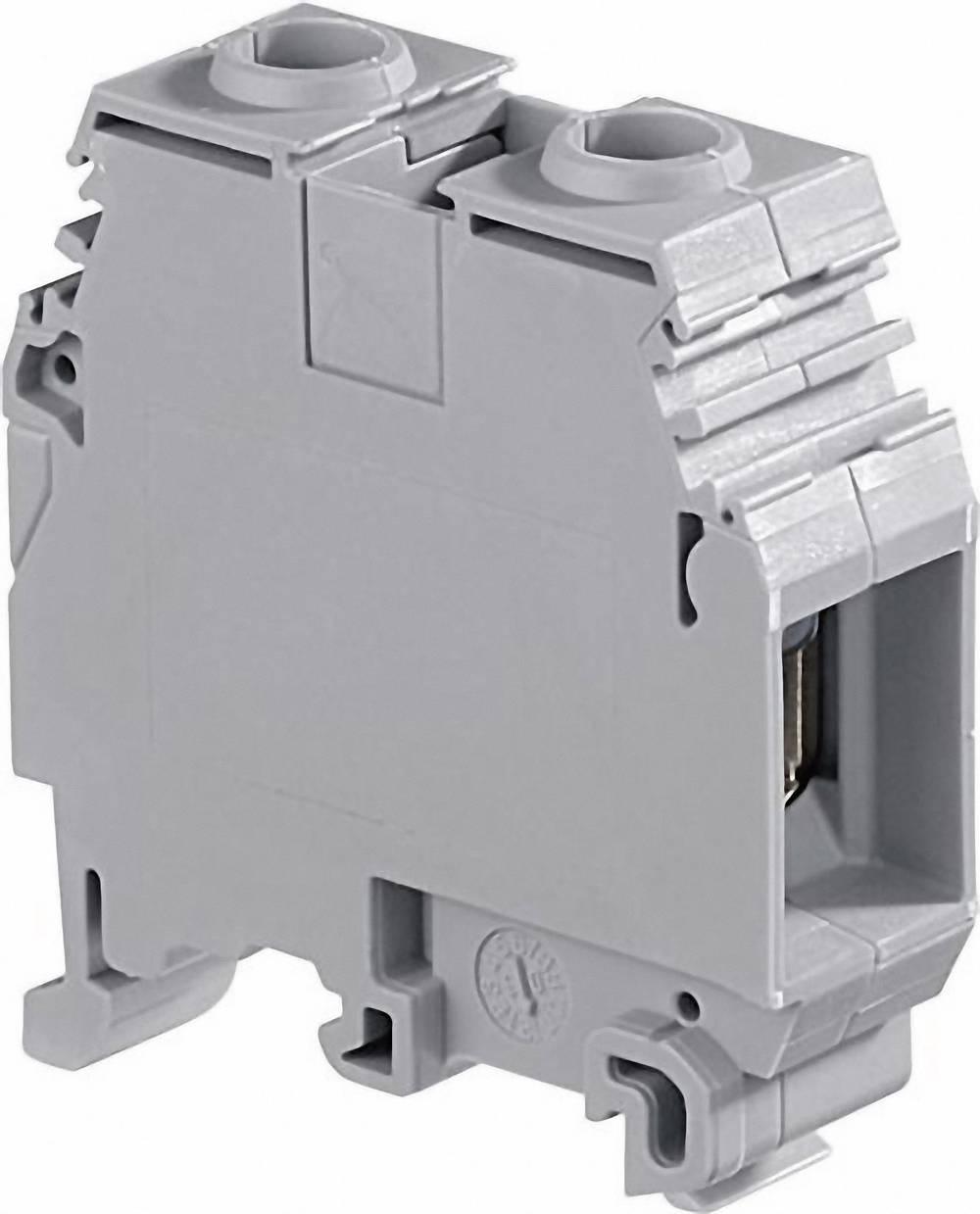 Gennemgangsklemme 16 mm Skruer Belægning: L Grå ABB 1SNA 115 124 R0700 1 stk
