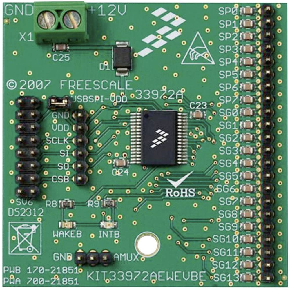 Razvojna plošča Freescale Semiconductor KIT33972AEWEVBE