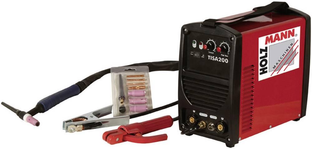 Holzmann Maschinen WIG/TIG inverterska varilna naprava TISA 200 H110200003 delovna napetost 230 V/50 Hz varilni tok 5 - 200
