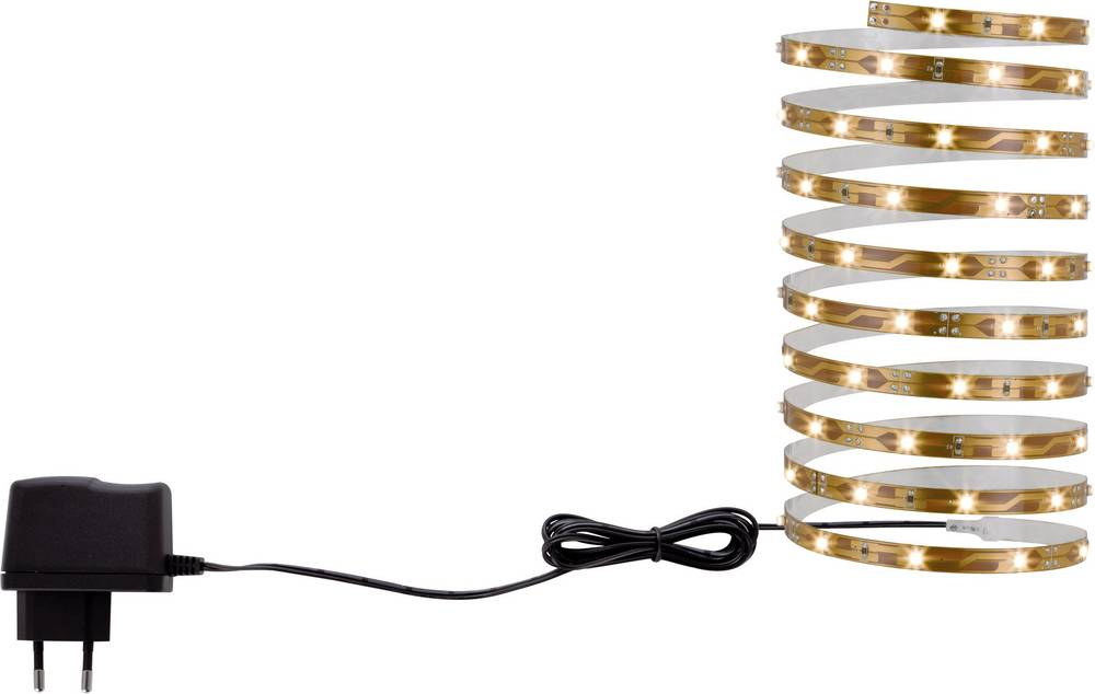 LED-båndsæt med stik 3559 12 V 300 cm Varm hvid