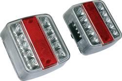 Zadnja luč za priklopnike, smernik, zavorna luč, luč za registrsko tablico, bela 12 V EAL