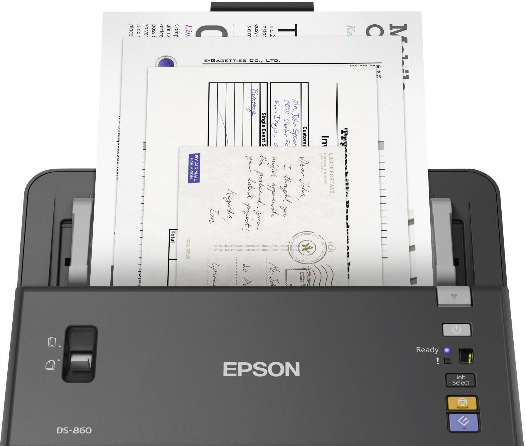 duplex document scanner a4 epson workforce ds 860 600 x 600 dpi 65 rh conrad com