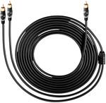 Oehlbach Easy Connect Subwoofer Cinch cable 5 m black