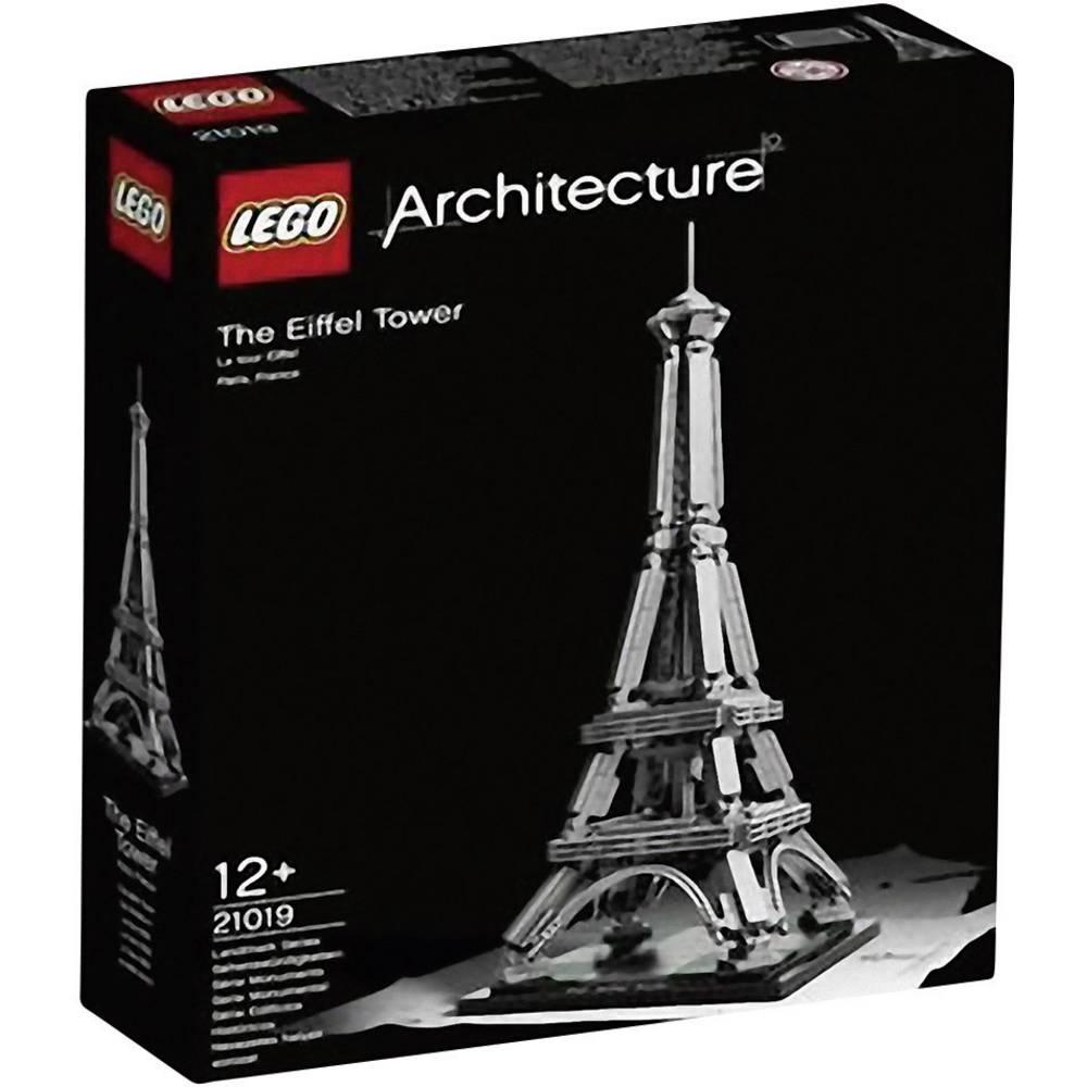 LEGO® ARCHITECTURE Tour Eiffel Architecture 21019 LEGO dele 321