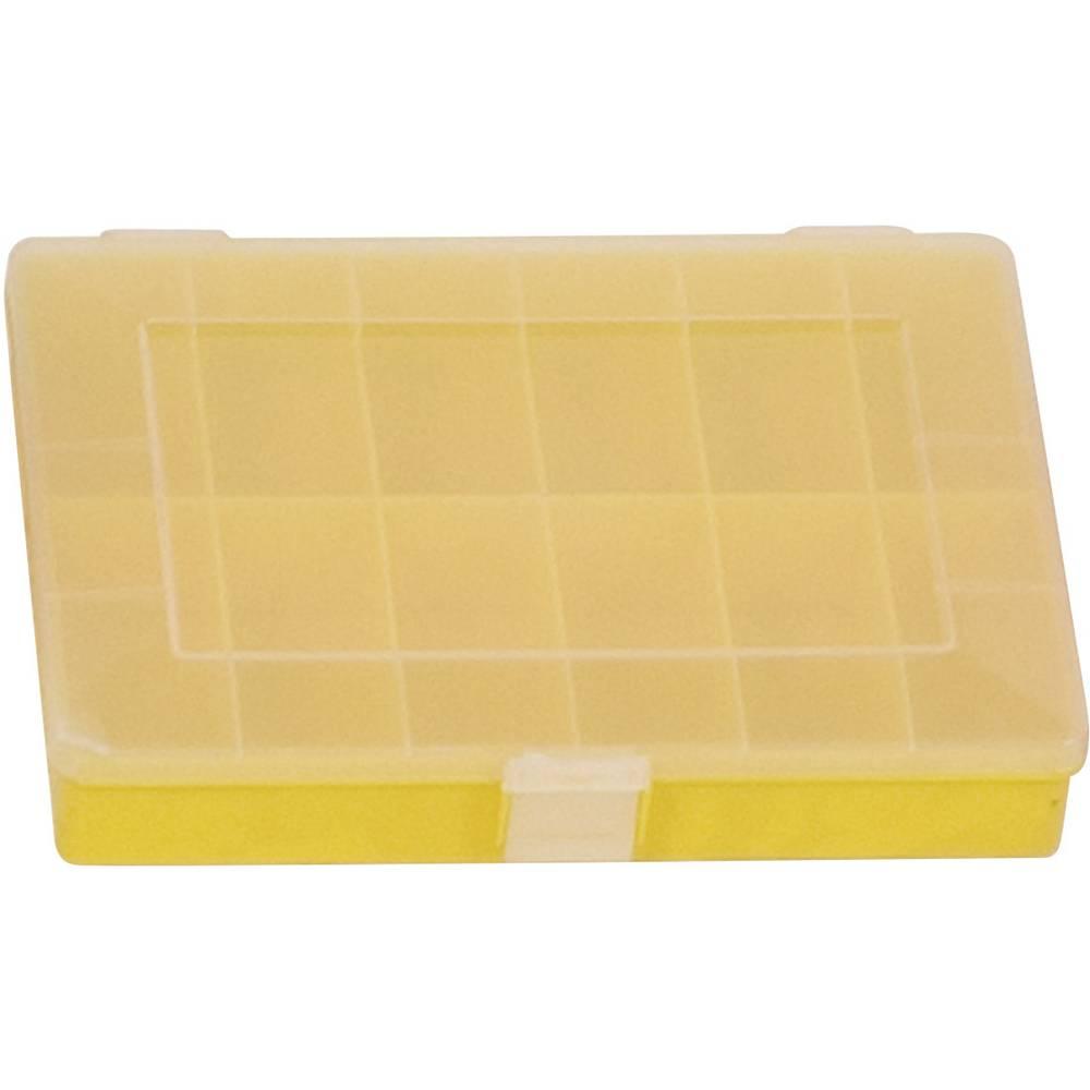 Sortirna škatla (D x Š x V) 250 x 180 x 45 mm Alutec št. predalov: 12 fiksna pregraditev