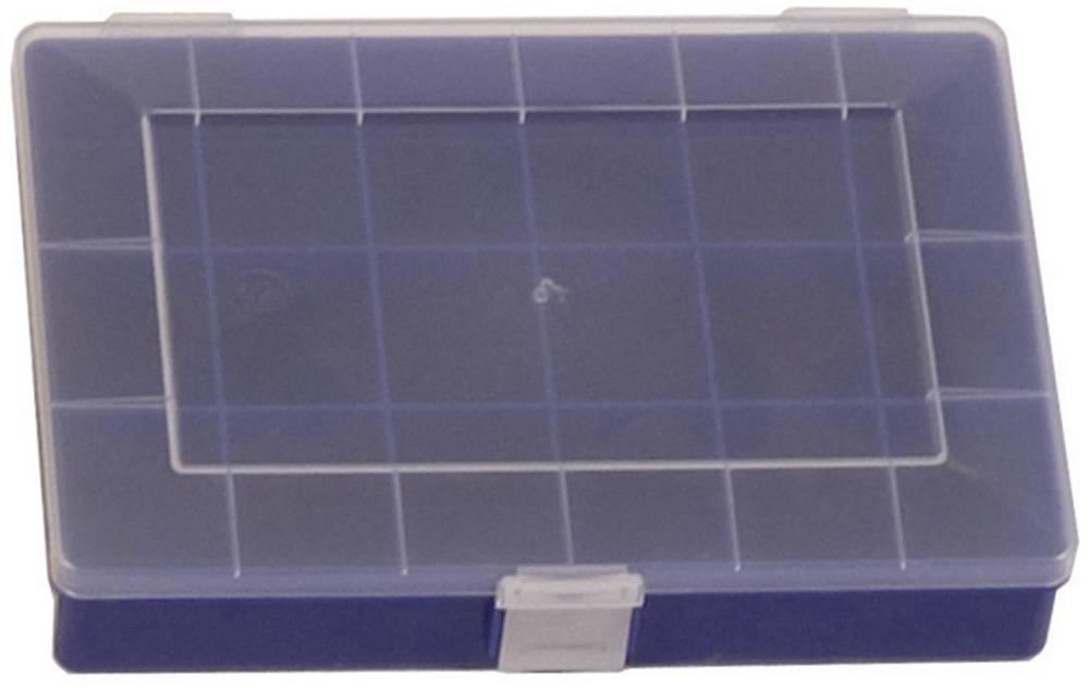 Sortirna škatla (D x Š x V) 250 x 180 x 45 mm Alutec št. predalov: 18 fiksna pregraditev