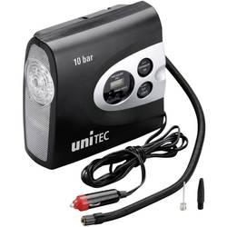Kompressor 10 bar Unitec 10945 Med arbejdslampe, Ledningsrum/-optagelse, Digitalt display , Automatisk slukning