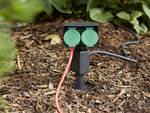 Garden socket 2-way