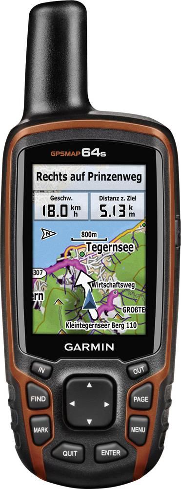 Garmin GPSMAP® 64s, Håndholdt GPS apparat, Outdoor-GPS