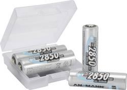 Genopladeligt AA-batteri NiMH Ansmann AA 4er + Box 2850 mAh 1.2 V 1 Set