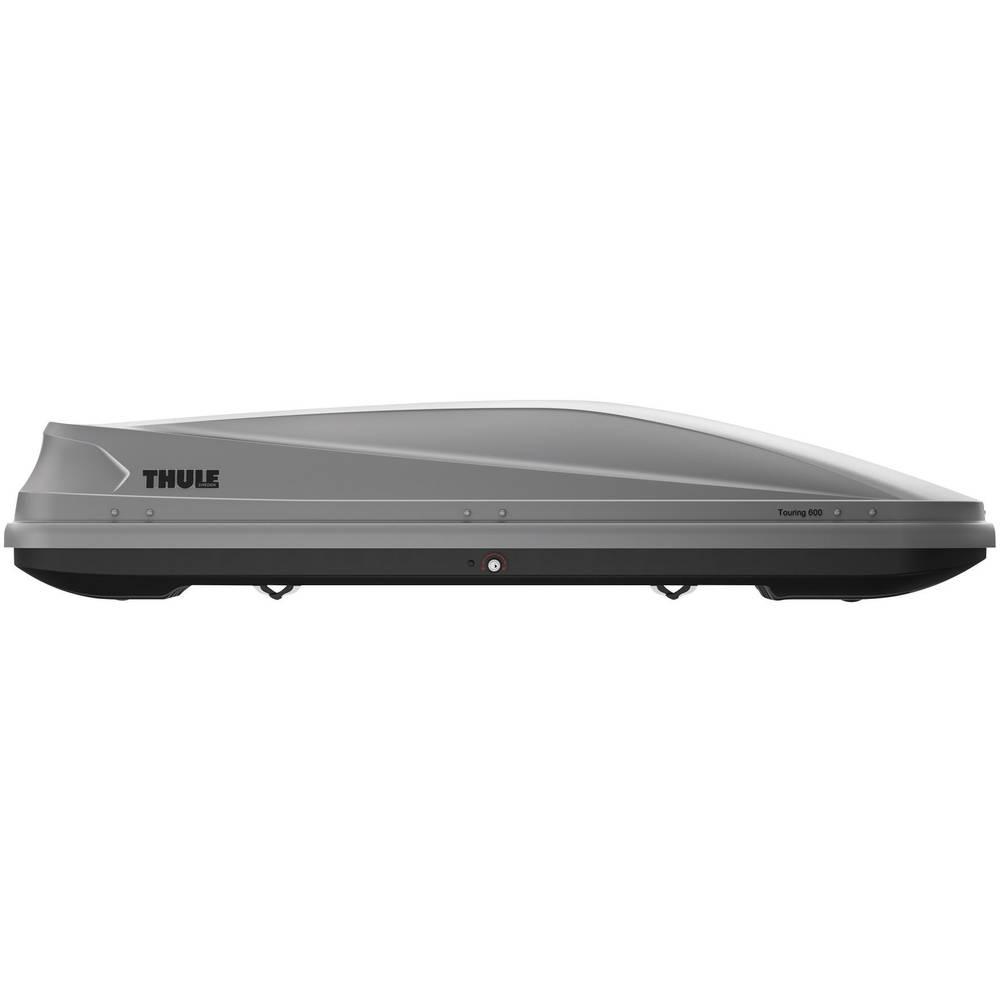 Strešni kovček Thule Touring 600, barva titana, aeroskin 634600
