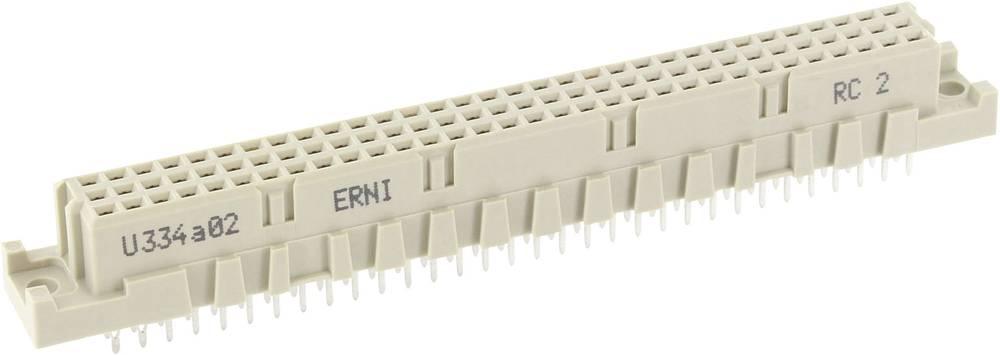 Multistikfatning 244304 Samlet poltal 96 Antal rækker 3 ERNI 1 stk