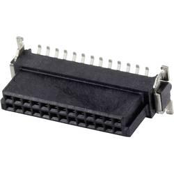 SMC-hankonnektor 154717 Samlet poltal 12 Antal rækker 2 ERNI 1 stk