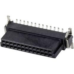 SMC-hankonnektor 124045 Samlet poltal 50 Antal rækker 2 ERNI 1 stk