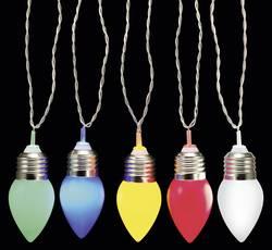 Party-lyskæde Polarlite Kegel Kegle 10 LED Flerfarvet 12.7 m