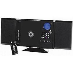 Stereoanlæg AEG MC 4421 N CD, MW, FM, USB, SD, 2 x 5 W Sort