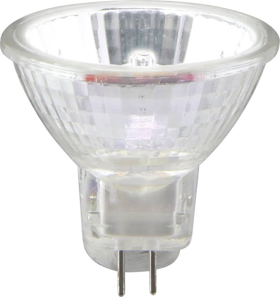 Halogenska žarnica 34 mm Sygonix 12 V G4 10 W topla bela, EEK: C reflektorska 1 kos