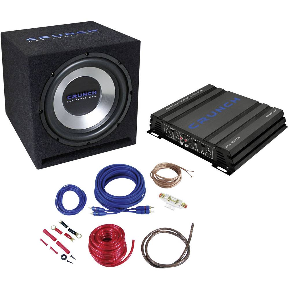 Car-HiFi-Set Crunch CBP1000