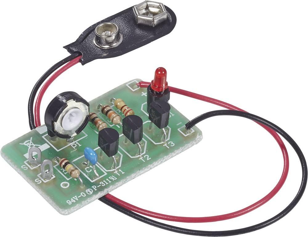Detektor laži Conrad Komplet za sastavljanje 4,5 - 9 V/DC