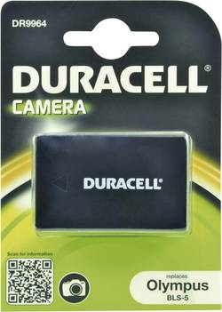 Image of Camera battery Duracell replaces original battery BLS-5 7.4 V 10