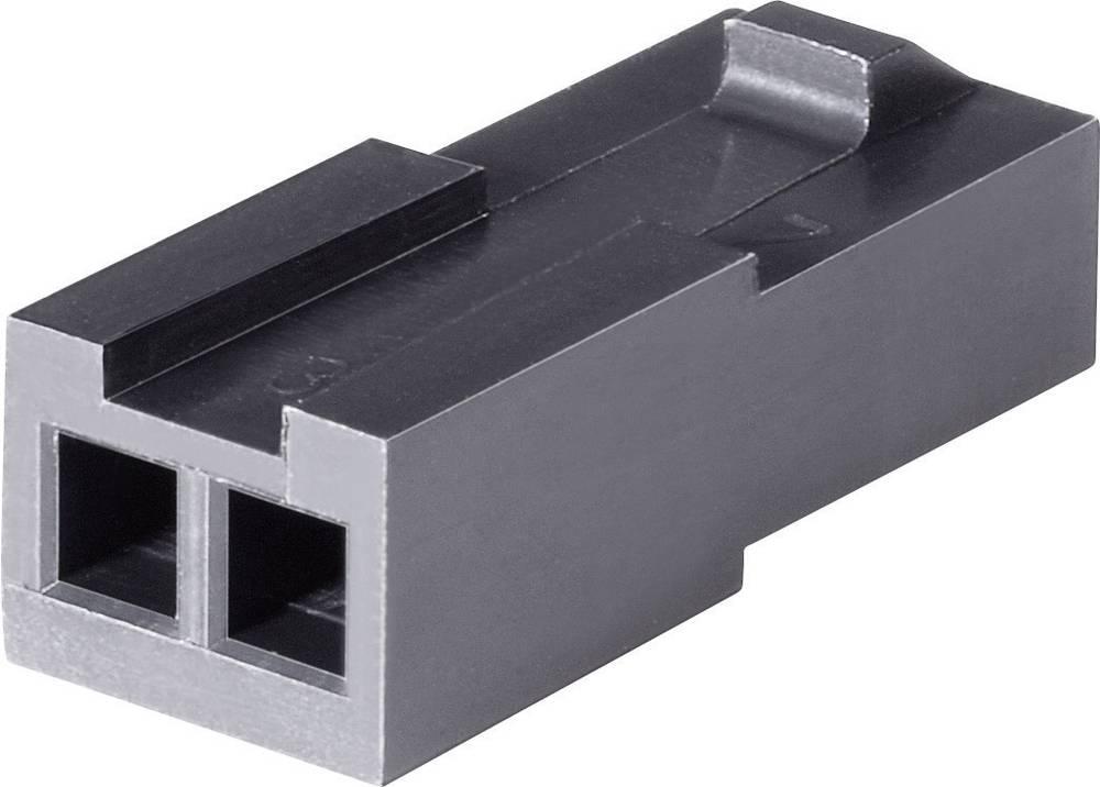 Stiftkabinet-kabel Micro-MATE-N-LOK Samlet antal poler 4 TE Connectivity 794616-4 Rastermål: 3 mm 1 stk