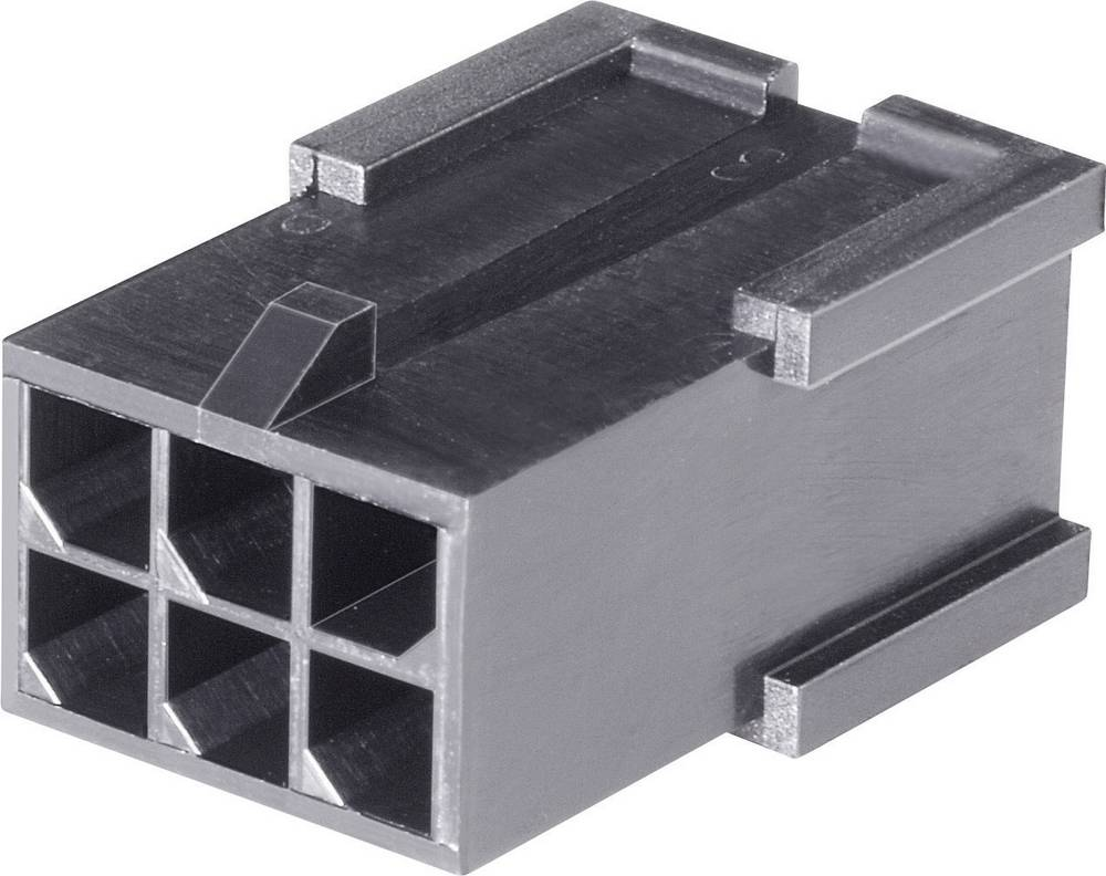 Stiftkabinet-kabel Micro-MATE-N-LOK Samlet antal poler 6 TE Connectivity 794616-6 Rastermål: 3 mm 1 stk