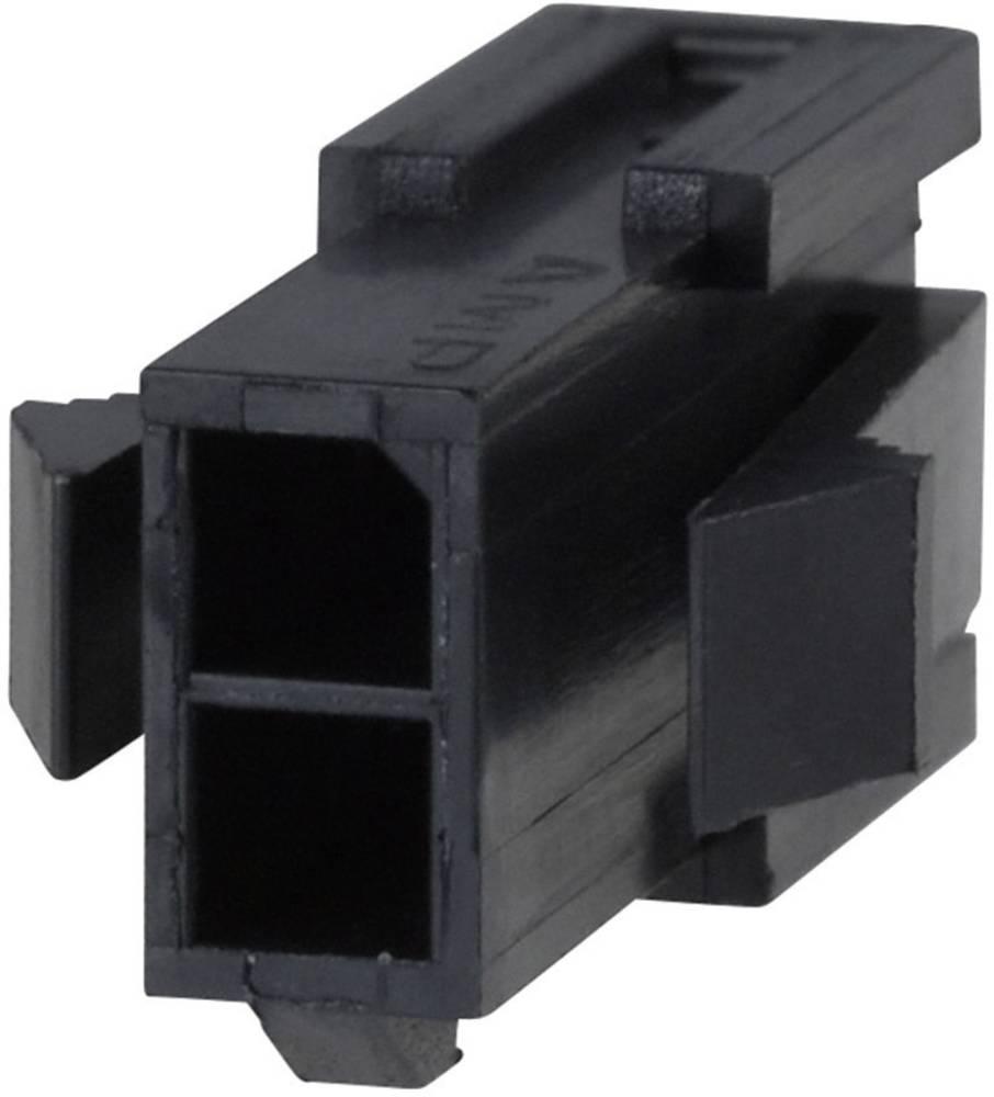 Stiftkabinet-kabel Micro-MATE-N-LOK Samlet antal poler 16 TE Connectivity 1-794615-6 Rastermål: 3 mm 1 stk