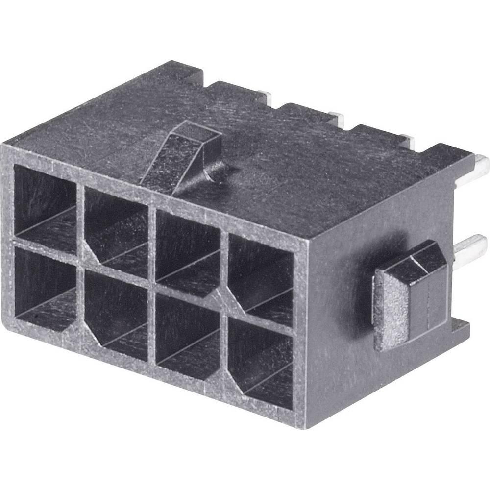 Stiftliste (standard) Micro-MATE-N-LOK Samlet antal poler 24 TE Connectivity 5-794630-4 Rastermål: 3 mm 1 stk