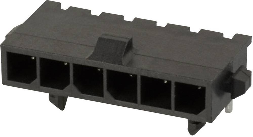 Stiftliste (standard) Micro-MATE-N-LOK Samlet antal poler 6 TE Connectivity 2-1445055-6 Rastermål: 3 mm 1 stk