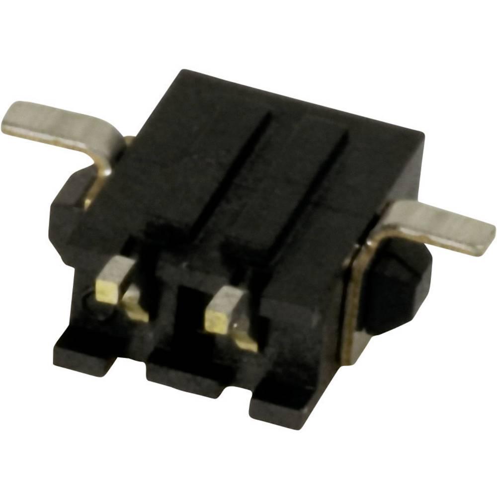 Stiftliste (standard) Micro-MATE-N-LOK Samlet antal poler 4 TE Connectivity 2-1445057-4 Rastermål: 3 mm 1 stk