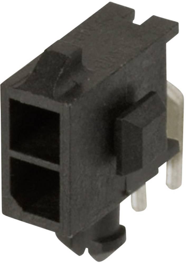 Stiftliste (standard) Micro-MATE-N-LOK Samlet antal poler 2 TE Connectivity 3-794618-2 Rastermål: 3 mm 1 stk