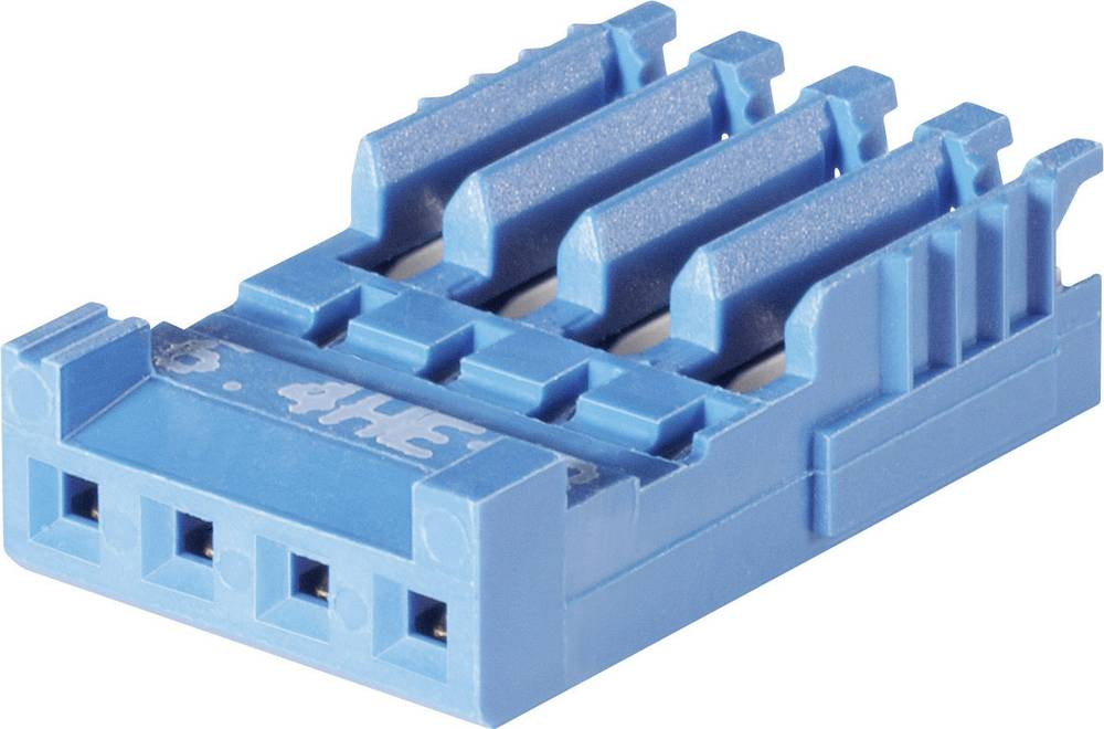 Ohišje za konektorje TE Connectivity 281786-6 : 2.54 mm 1 kos