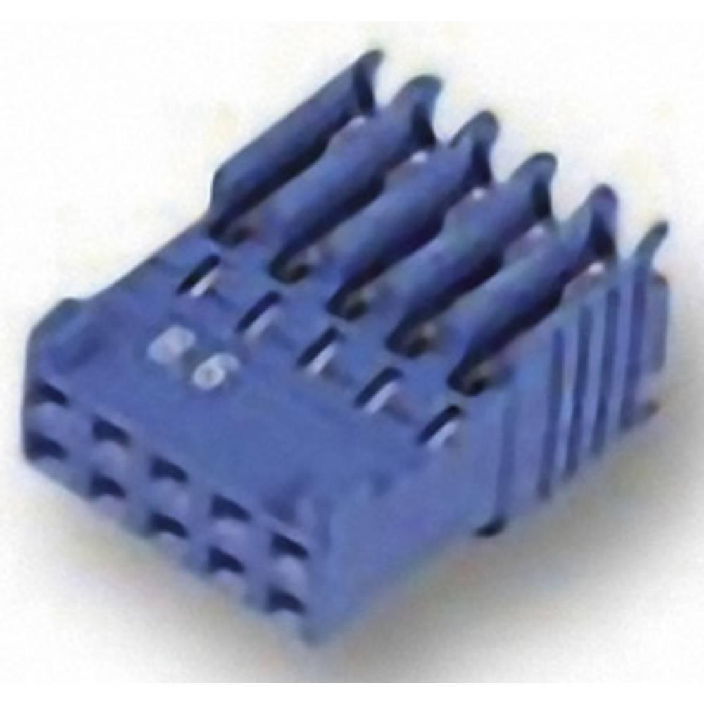 Tilslutningskabinet-kabel AMPMODU HE14 Samlet antal poler 16 TE Connectivity 281792-8 Rastermål: 2.54 mm 1 stk