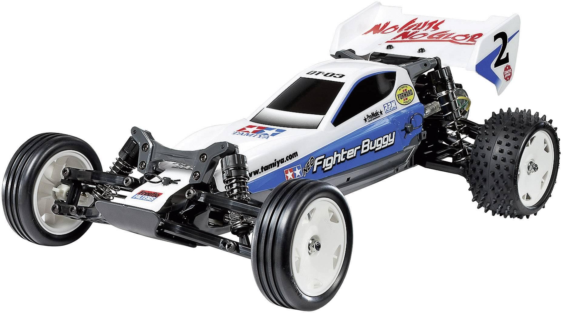 Tamiya Neo Fighter Brushed 1 10 Rc Model Car Electric Buggy Rwd Kit Conrad Com