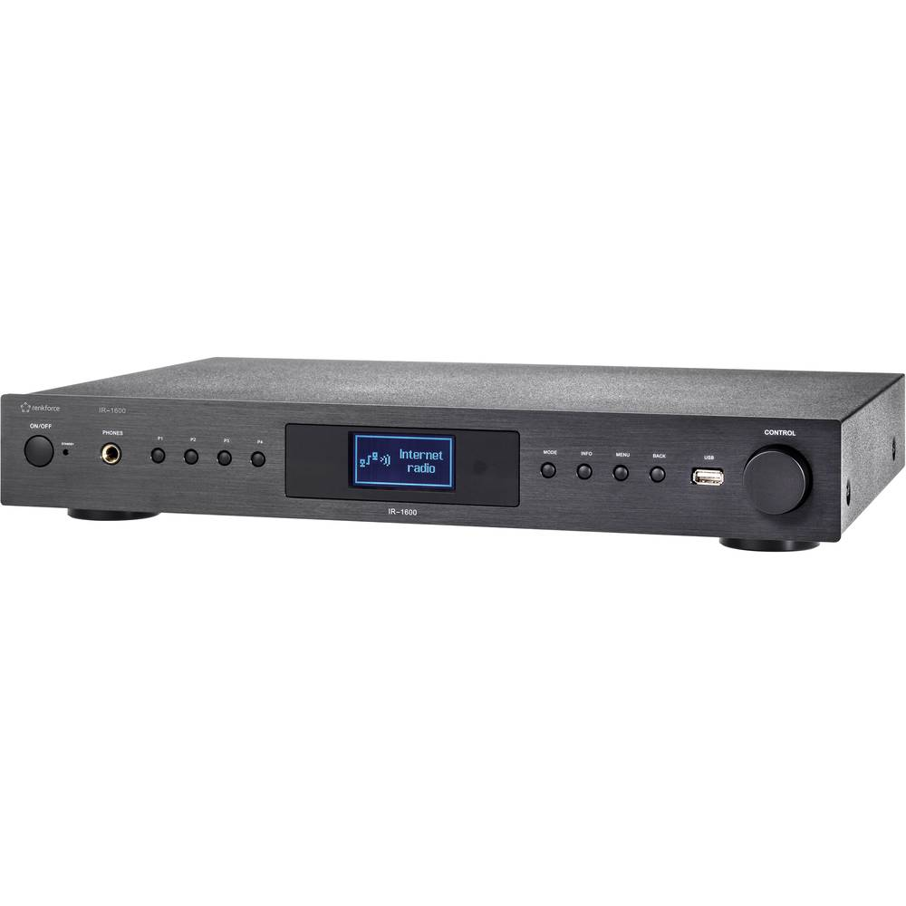 HiFi stereo internetski/UKV radio IR-1600 Renkforce, USB priključak, WLAN