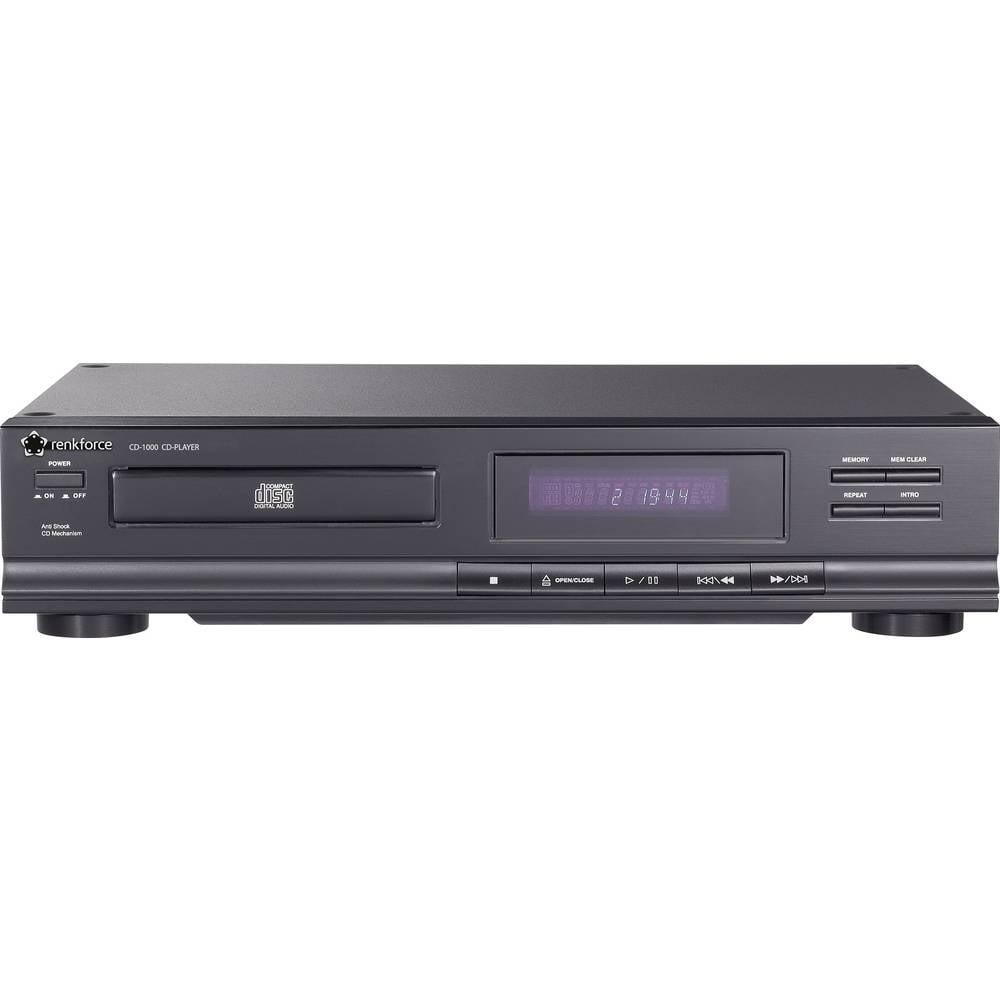 Stereo pojačalo Renkforce CD-1000 crne boje