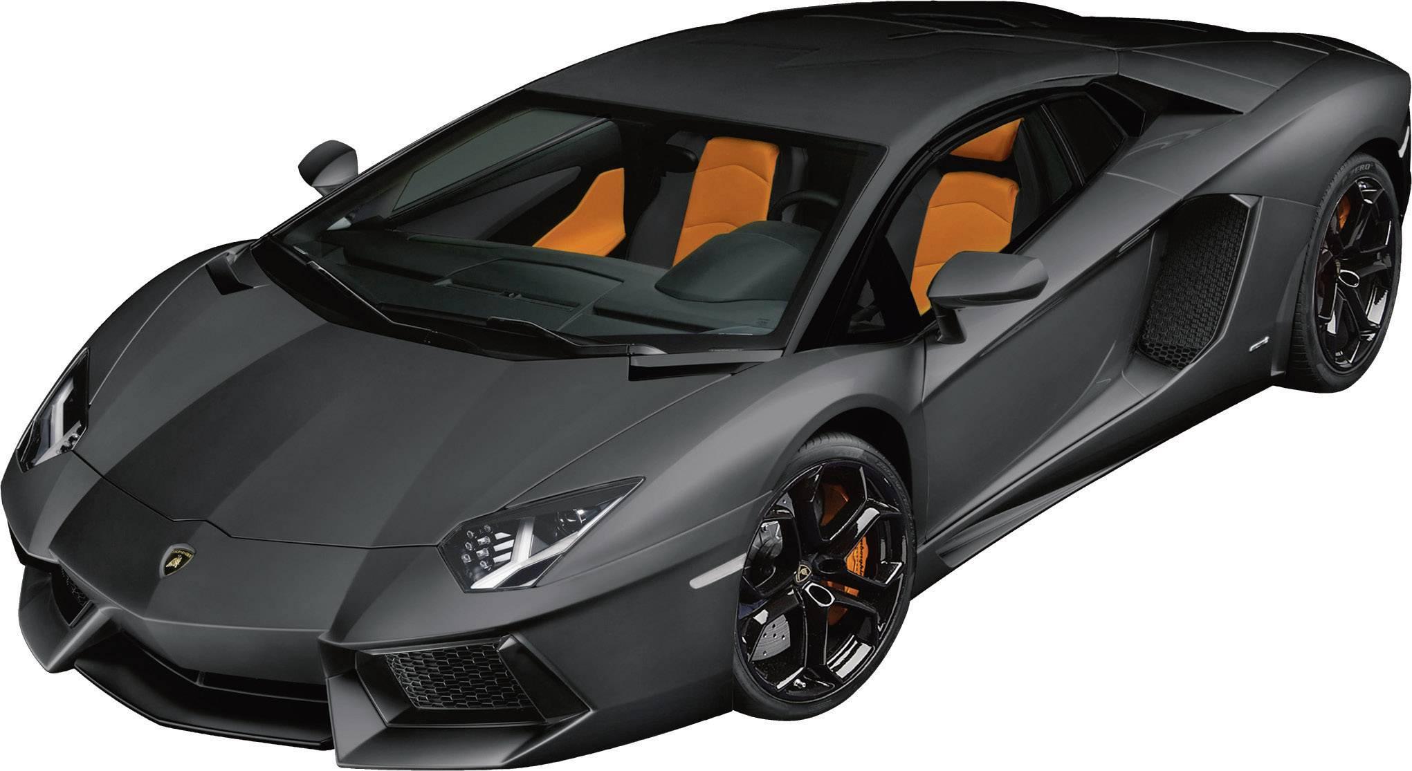 Pocher Lamborghini Aventador Mattschwarz 1 8 Model Car Conrad Com
