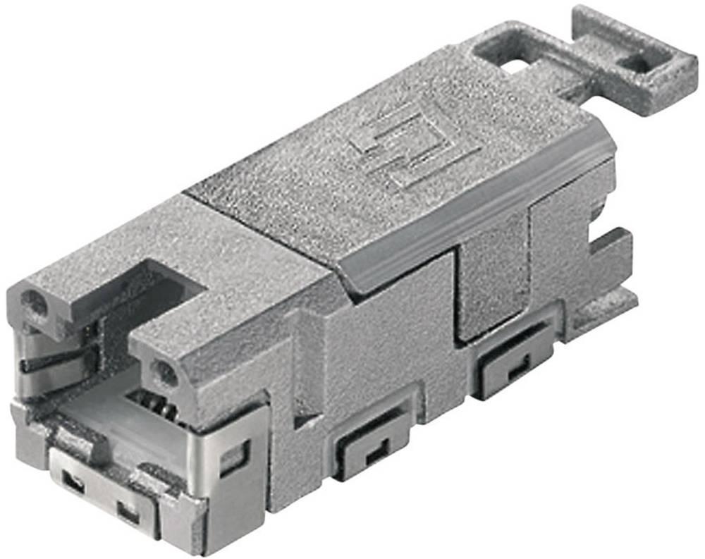 STX V1 RJ45-modulni vstavek kat.6A vtičnica, raven, polov:8P8C J80029A0000 Telegärtner J80029A0000 1 kos