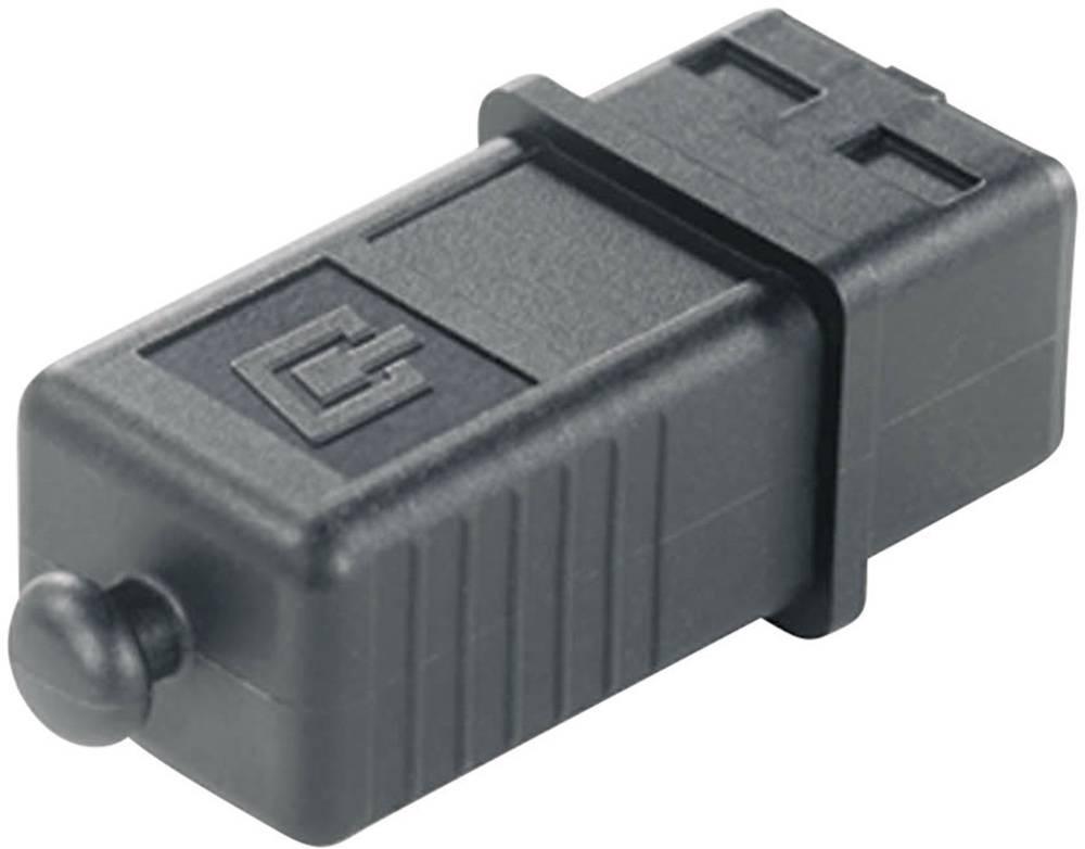 Pokrov za zaščito pred prahom za vtič, verzije 4 H80030A0001 črne barve Telegärtner H80030A0001 1 kos