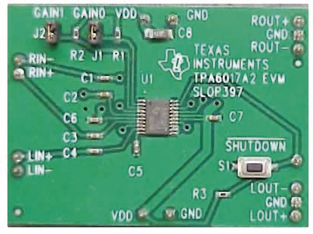 Razvojna plošča Texas Instruments TPA6017A2EVM