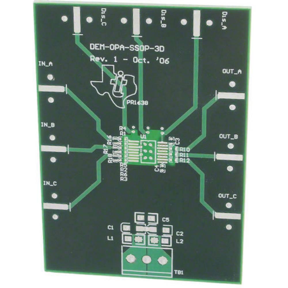 Plošča za tiskano vezje (neopremljena) Texas Instruments DEM-OPA-SSOP-3D