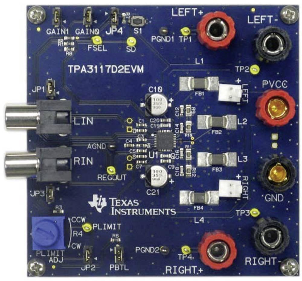 Razvojna plošča Texas Instruments TPA3117D2EVM
