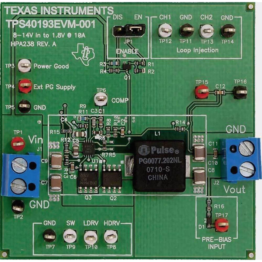 Razvojna plošča Texas Instruments TPS40193EVM-001