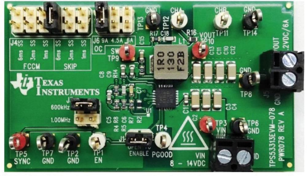 Razvojna plošča Texas Instruments TPS53313EVM-078