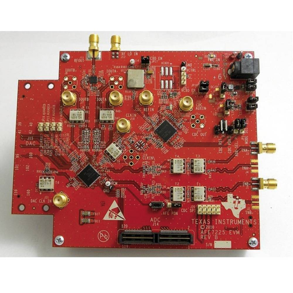 Razvojna plošča Texas Instruments AFE7225EVM
