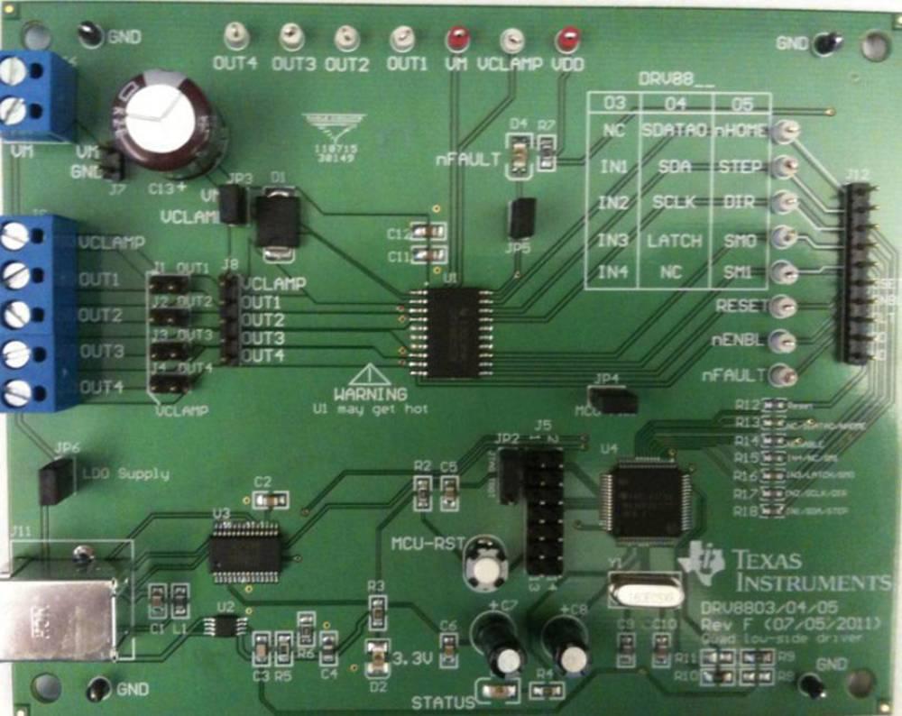 Razvojna plošča Texas Instruments DRV8803EVM
