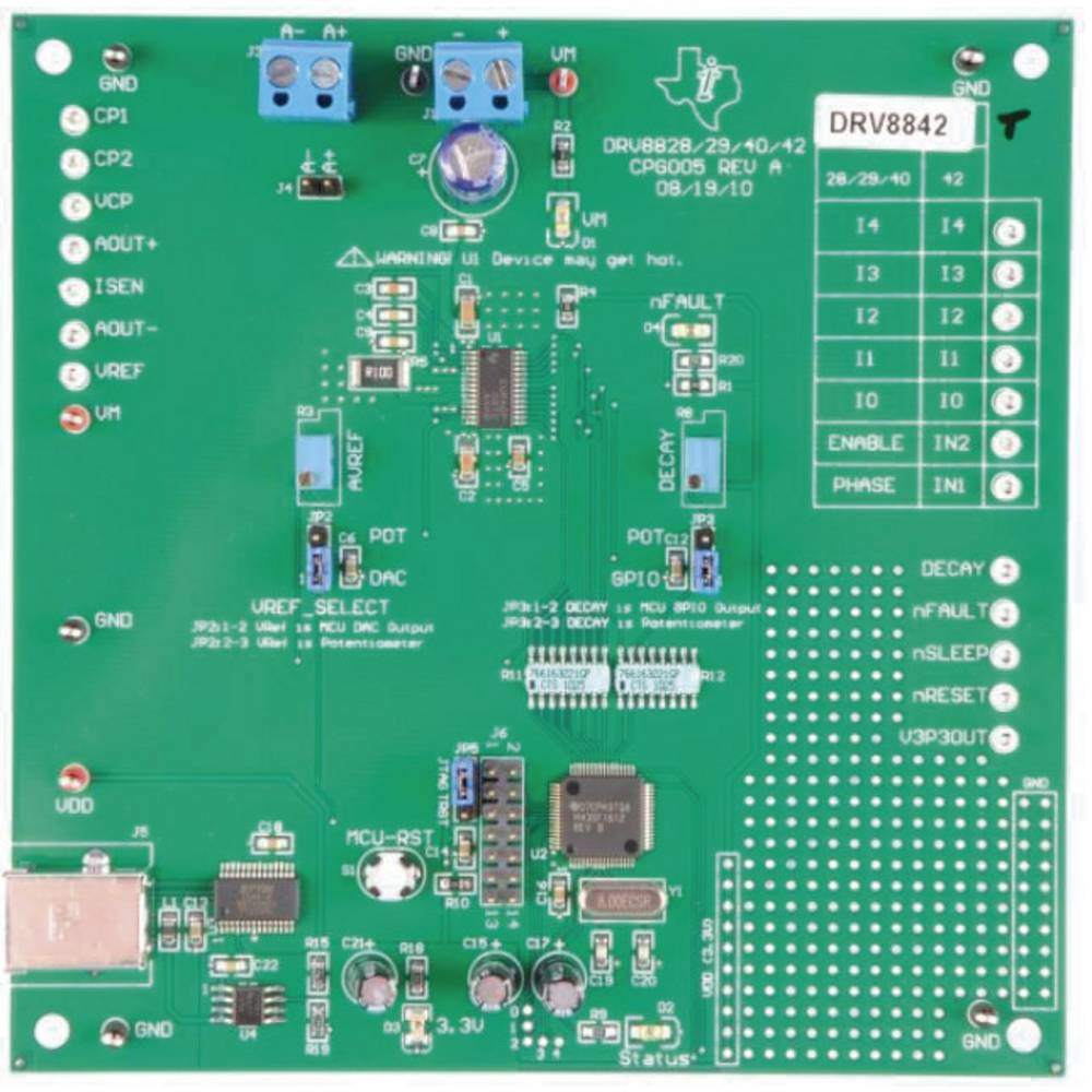 Razvojna plošča Texas Instruments DRV8842EVM