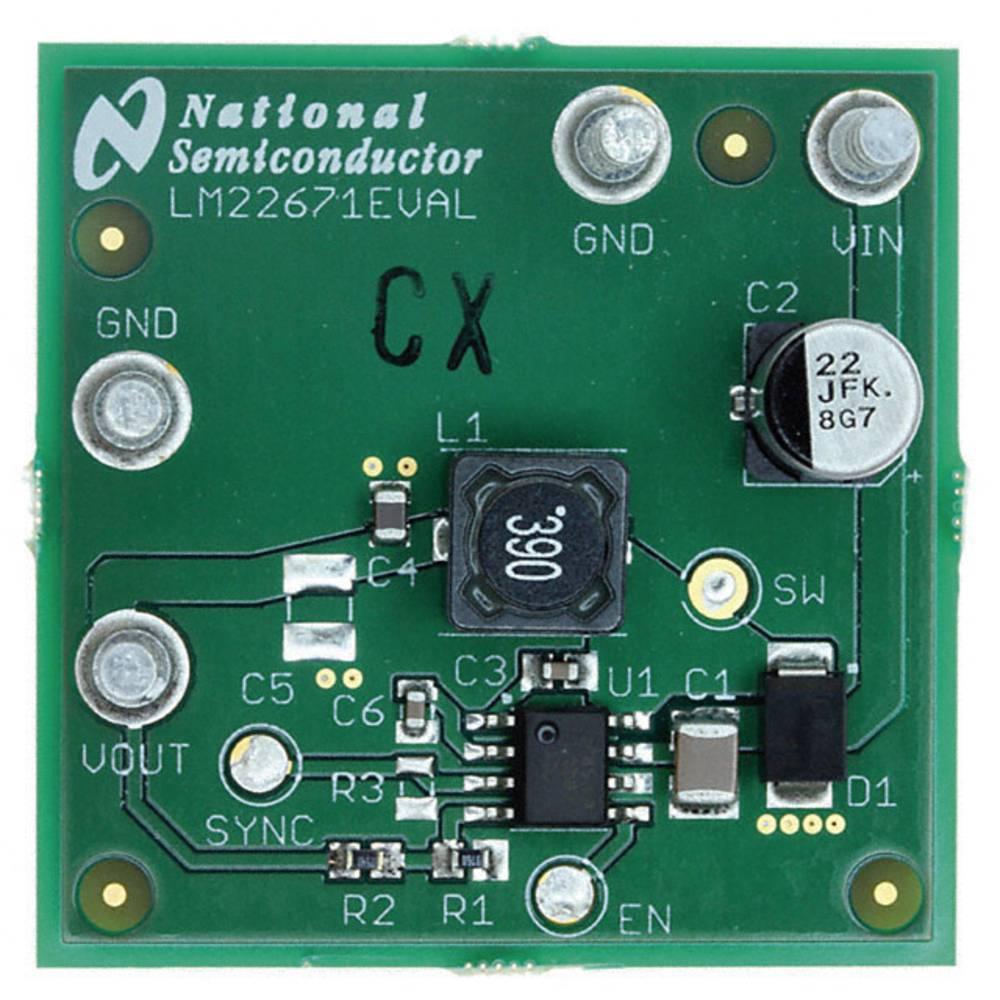 Razvojna plošča Texas Instruments LM22671EVAL/NOPB