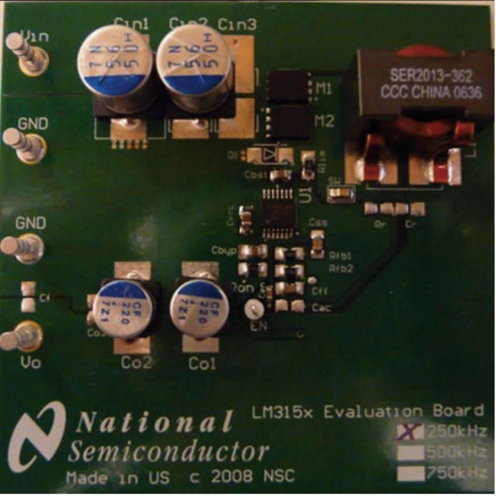 Razvojna plošča Texas Instruments LM3150-250EVAL/NOPB