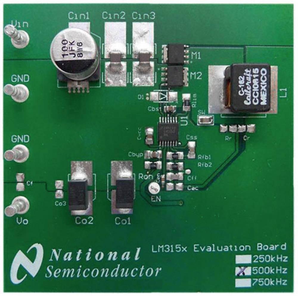 Razvojna plošča Texas Instruments LM3150-500EVAL/NOPB
